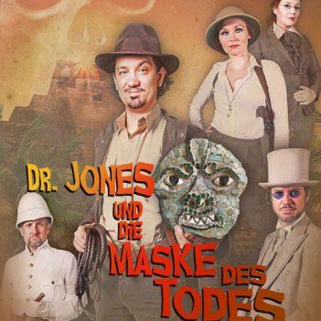 Titelbild: Dr. Jones und die Maske des Todes